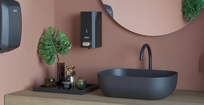 Imagen ambiental serie SOAP DISPENSERS