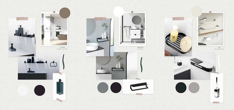 Nuevos accesorios de baño catálogo Universe Sonia Bath