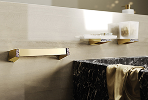 Accesorios de baño Gold Rose