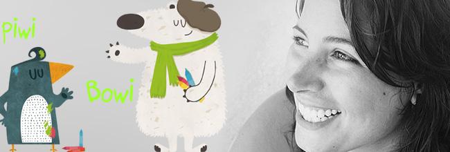 Lalalimola: Piwi & Bowi illustrator.