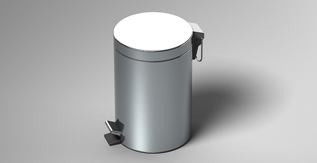 Imagen producto PEDAL WASTE 5L(1.3 GAL)