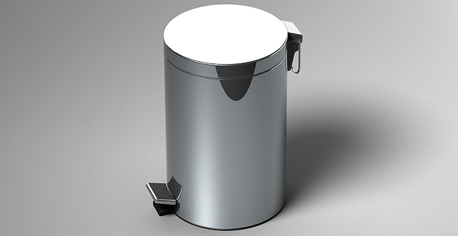 Imagen producto PEDAL WASTE 12L(3.2 GAL)
