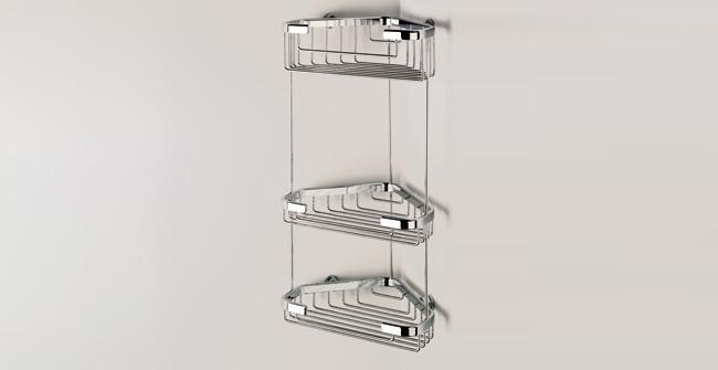 Imagen producto WIRE BASKET, TRIPLE CORNER