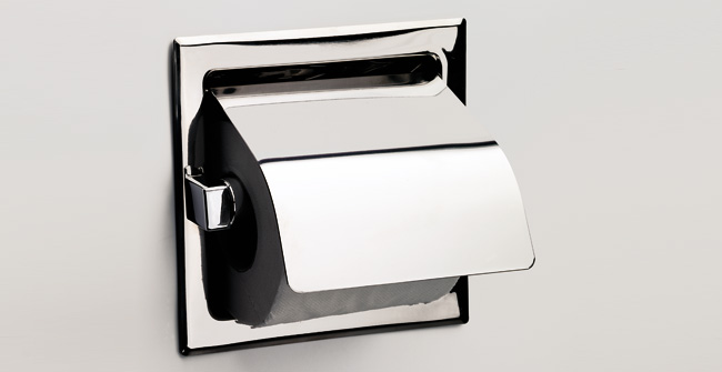 Imagen producto COVERED ROLL HOLDER RECESSED
