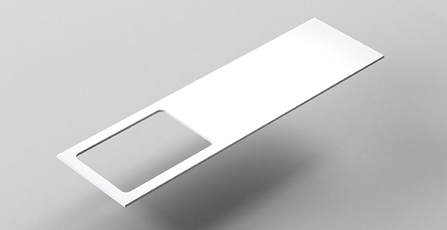 Imagen producto COUNTERTOP 160 OFFSET LEFT/RIGHT