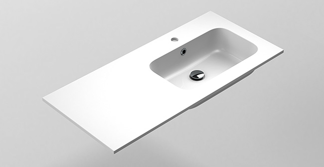 Imagen producto MX3 BASIN 100 1Ø OFFSET EDGE.RIGHT