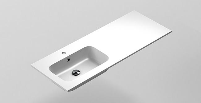 Imagen producto MX3 BASIN 120 1Ø OFFSET EDGE.LEFT