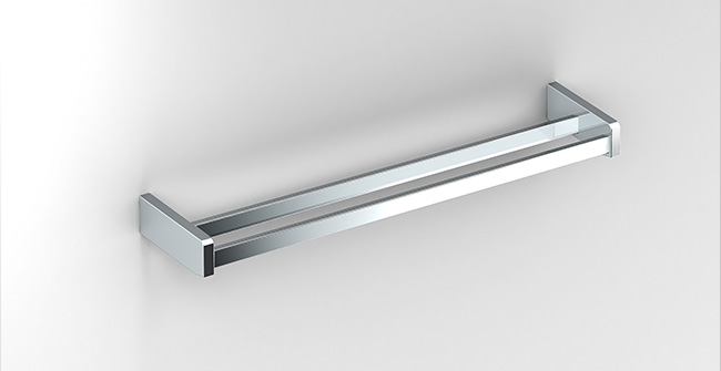 Imagen producto DOUBLE TOWEL BAR 600 mm.(24